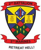 2nd Battalion 5th Marines Retreat Hell logo