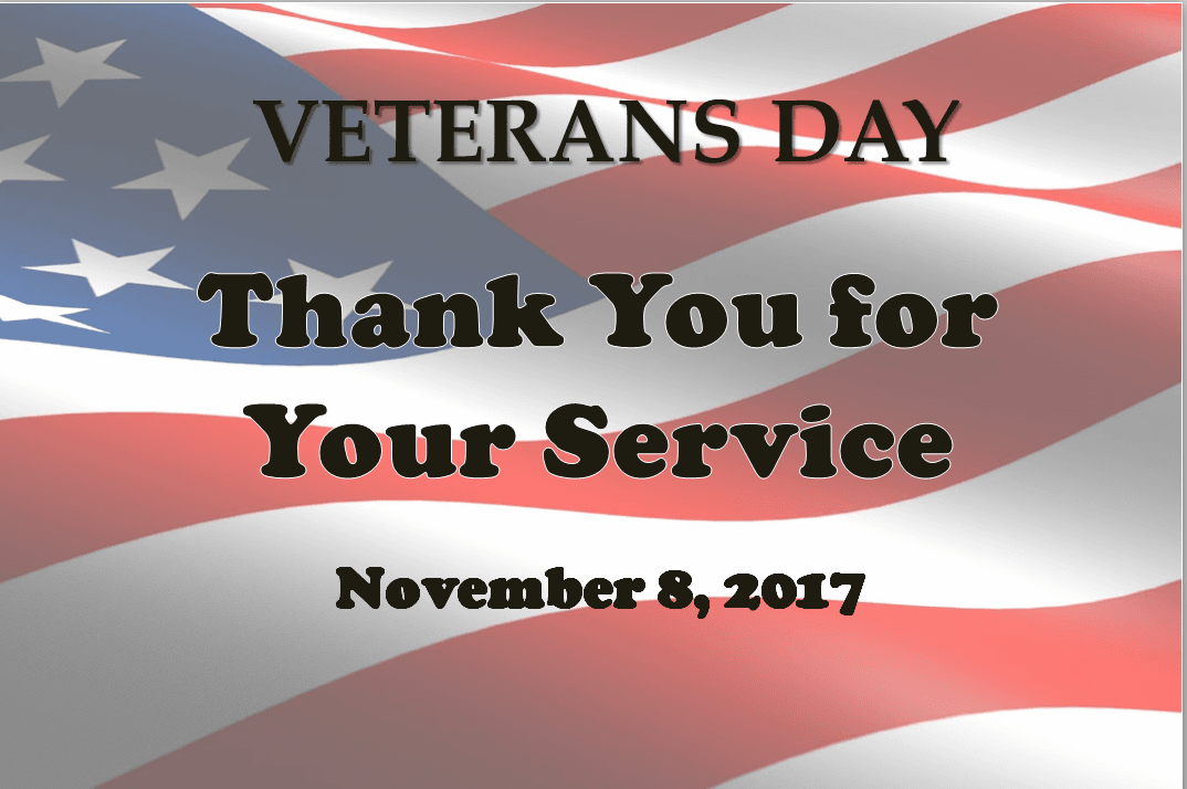 Veterans Day 2017 Slideshow
