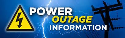 Power Outage Information graphic