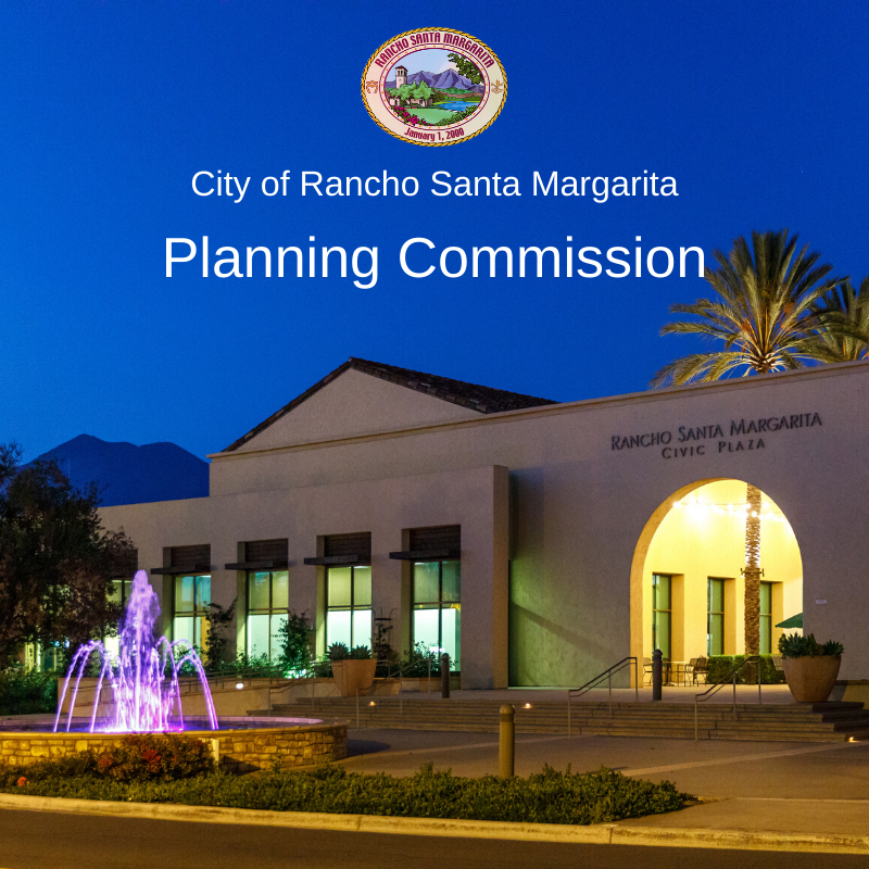 City of Rancho Santa Margarita Planning Commission graphic