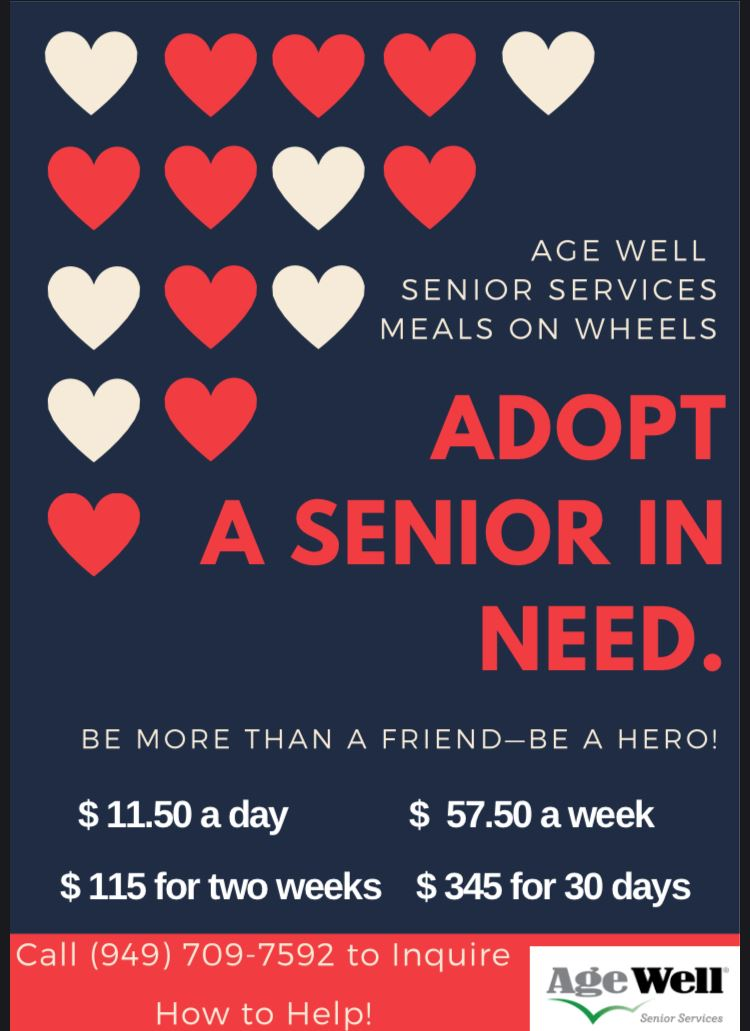 Age Well Senior Services Adopt a Senior