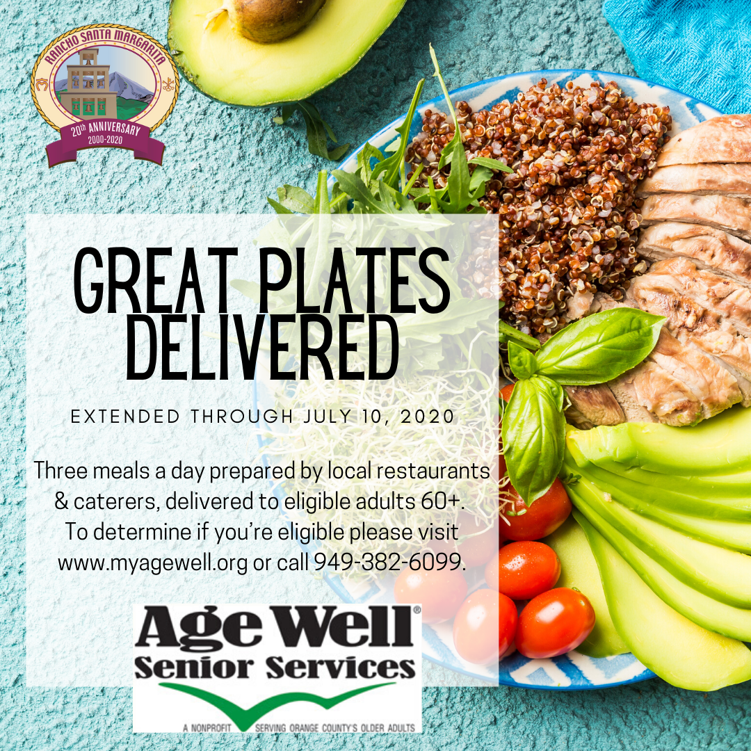 Great Plates Delivered 2020 Graphic