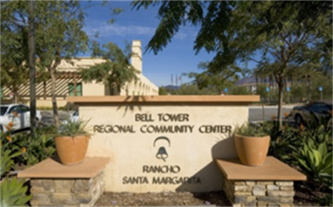 Bell Tower Regional Community Center front entrance
