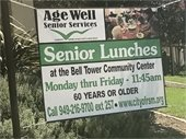 Age Well Senior Services banner