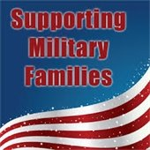 Supporting Military families graphic