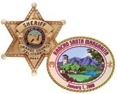 OCSD Badge, City of RSM logo