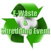 E-Waste and Document Shredding Event graphic