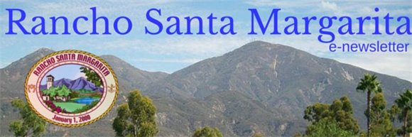 e-news masthead with Saddleback mountain and City seal