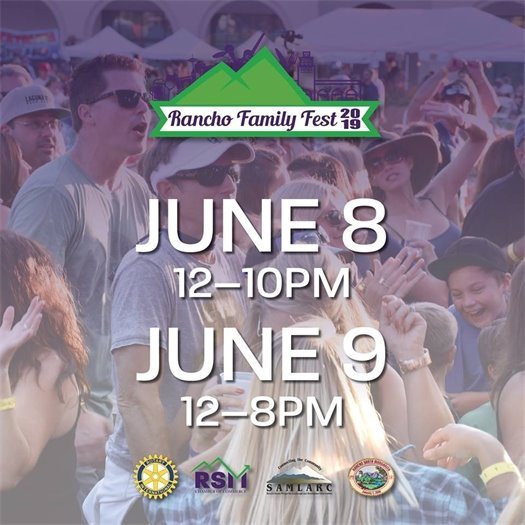 Rancho Family Fest 2019 Graphic