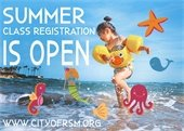 Summer Class Registration Is Open graphic