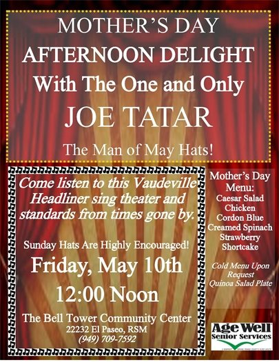 Age Well Mother's Day Flyer