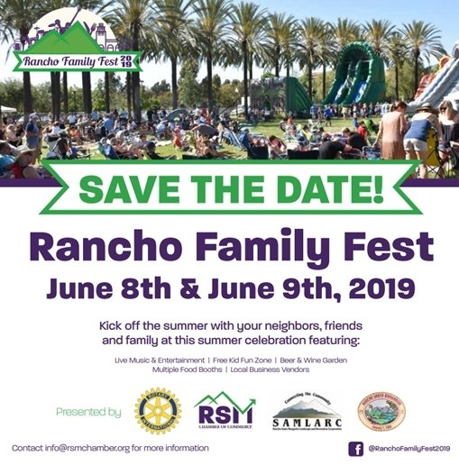 Rancho Family Fest Save the Date