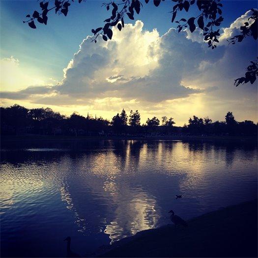 RSM Lake at sunset