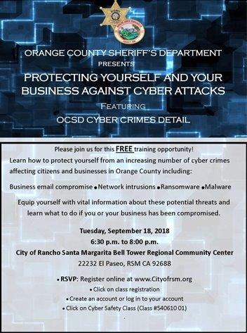 Cybercrime Flyer