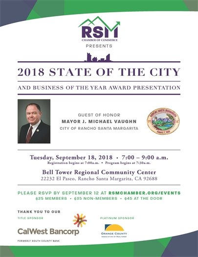 State of the City flyer