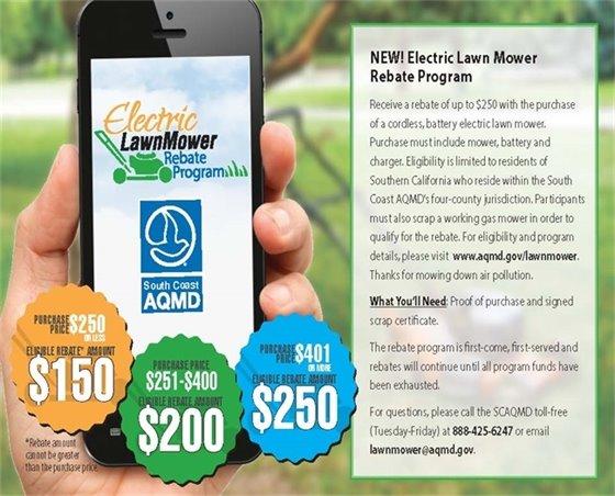 Lawn Mower Rebate Program