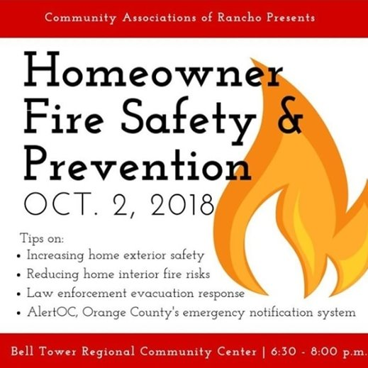 Fire Safety Prevention meeting