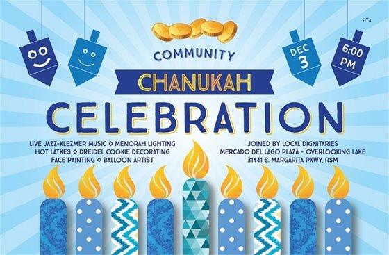 Chanukah Celebration flyer