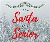 Be a Santa to a Senior graphic
