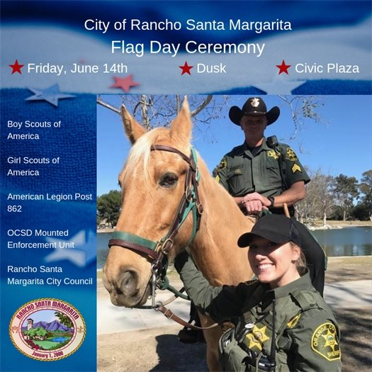 RSM Flag Day - Mounted Enforcement Unit graphic