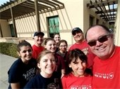 ZeroTrash Volunteers at the Bell Tower