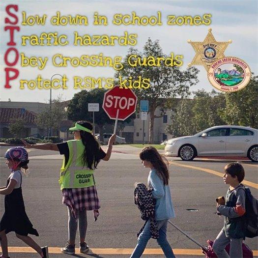OCSD Crossing Guard reminder
