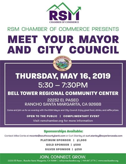 Meet the Mayor flyer