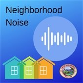 Neighborhood noise graphic