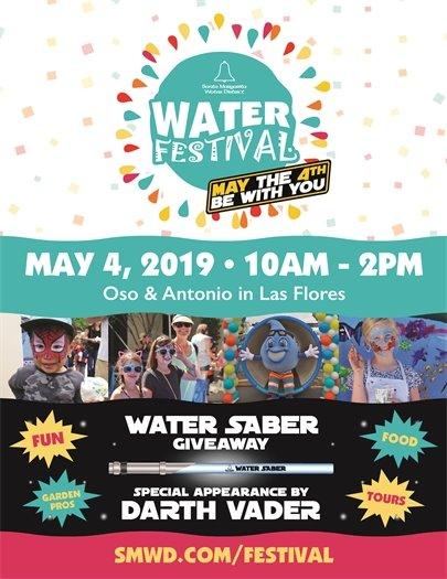 SMWD Water Festival Flyer