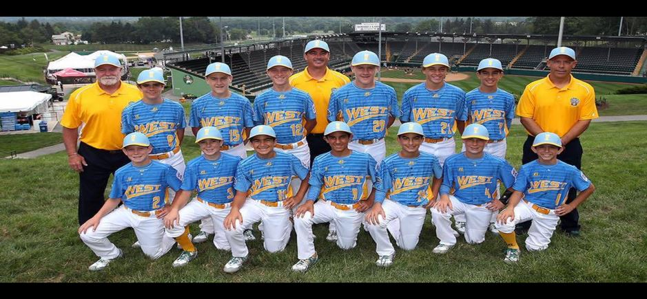 Santa Margarita Little League 12U World Series Team