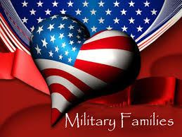 Support Military families graphic