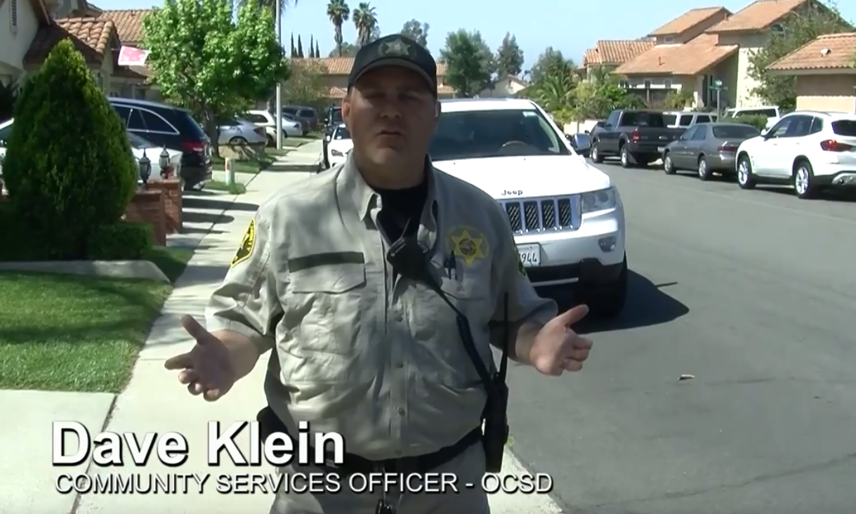 Dave Klein, OCSD discusses parking near Santa Margarita Catholic High School