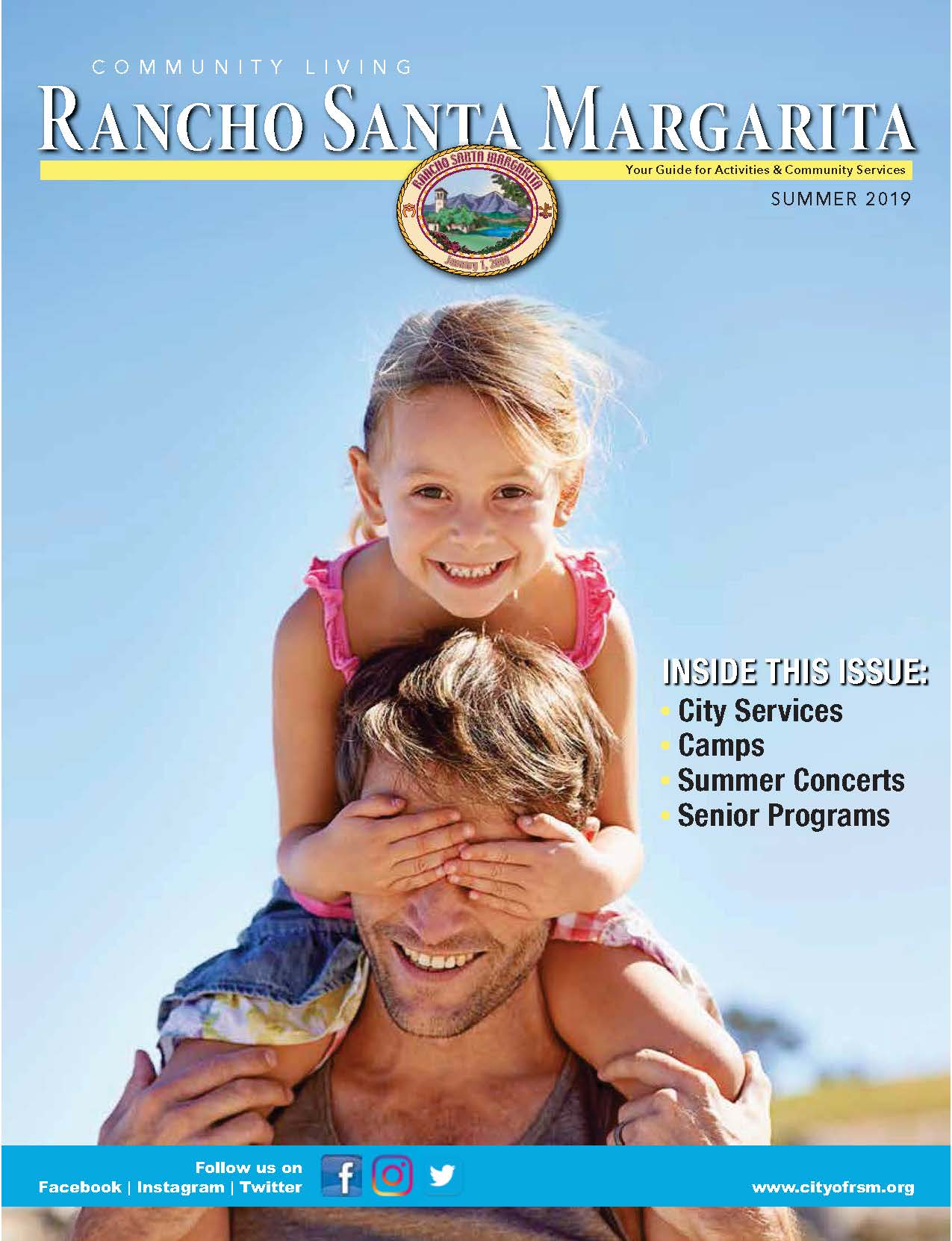 RSM Summer 2019 Community Living Magazine Cover