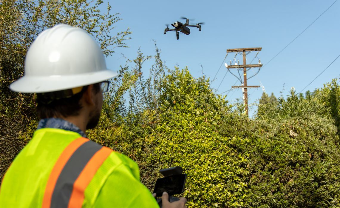 Drone and SCE contract pilot