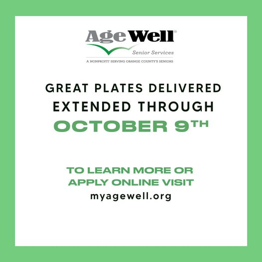 Great Plates extended through 10092020 graphic