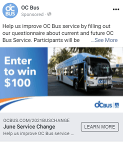OCTA Bus Survey 03022021