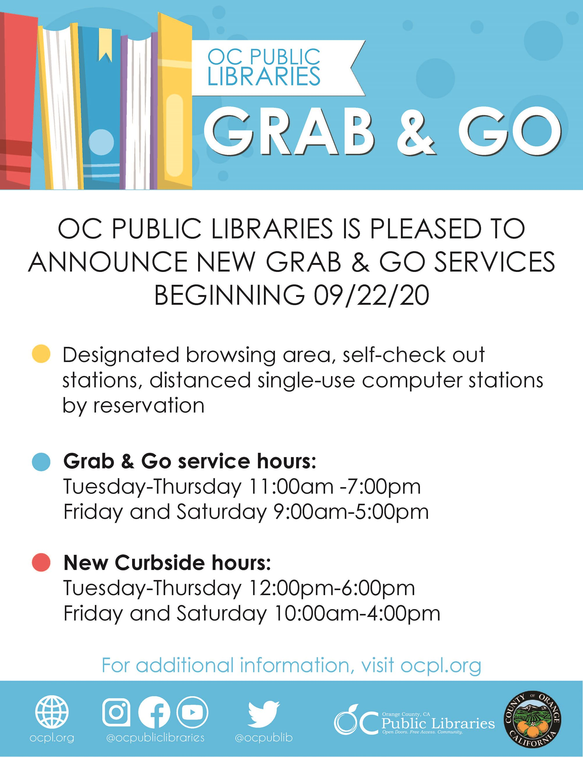 OCPL Grab and Go 09222020